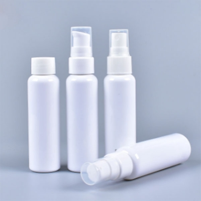60ml PE Plastic Cosmetic Lotion Bottle With Spary Pump