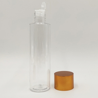 150ml Cylinder Plastic Face Toner bottle