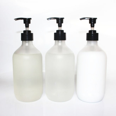 500ml  Hair Care Products Bottle With Lotion Pump