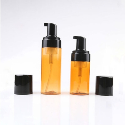 50-100ml Amber Hand Wash Bottle With Foam Pump