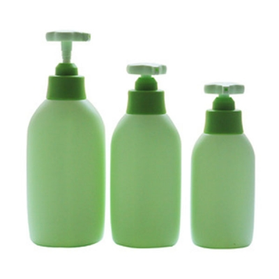 200-800ml  PE Shower Gel Plastic Bottle