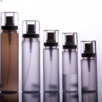100ml-300ml Transparent Lotion Packaging  Bottle With Spray Pump