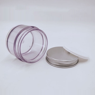 Plastic Container 50g Pet Cosmetic Plastic Jar