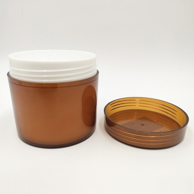 50g Amber Cosmetic Packaging Cream Jar