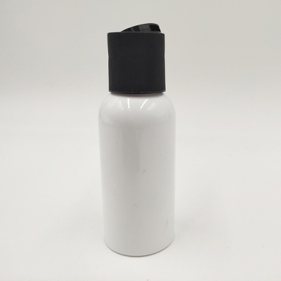 50ml Cosmetic White Color PE Plastic Shampoo Squeeze Flip  Bottle