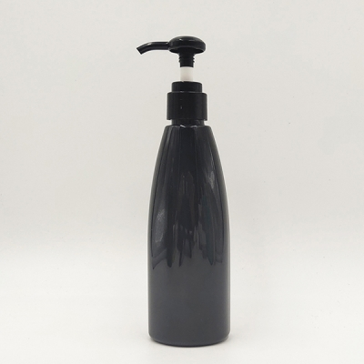 250ml PET Plastic Shampoo Bottles With Lotion Pump