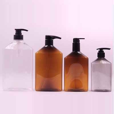 300ml-1000ml Plastic Shampoo Shower Gel Bottle with Lotion Pump