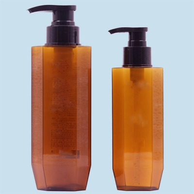 280ml 460ml PETG Plastic Packaging Cosmetic with Lotion Pump