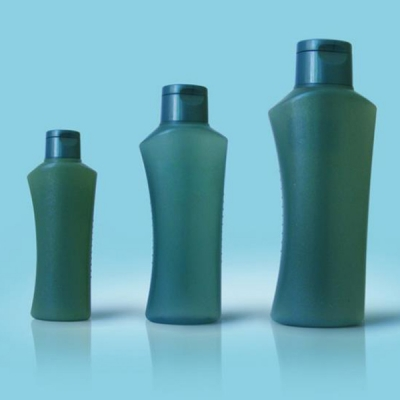 100ml 200ml 400ml Shampoo Plastic Bottles with Flip Cap