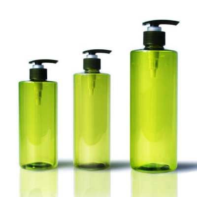 500ml 1000ml Cosmetic Shampoo Packing Plastic Pet Bottle