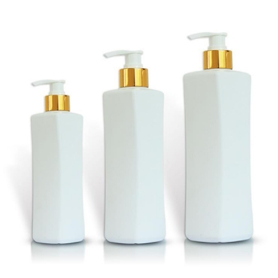 Cosmetic Shampoo Packing Plastic Pet Bottle 520ml 750ml