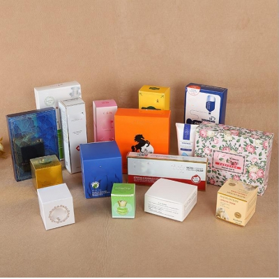 Custom Size Color Cosmetic Packaging Gift Paper Box