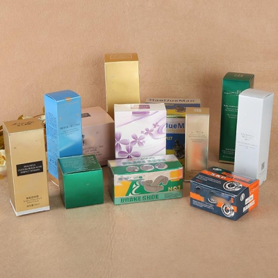 Factory Custom Cosmetic Gift Packaging Paper Box