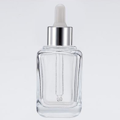 60ml Transparent Thick Wall Glass Essential Oil Bottle